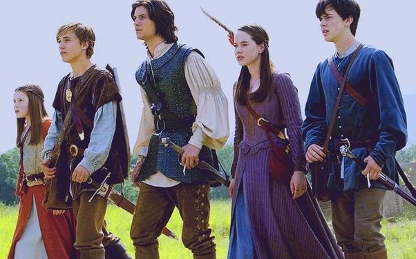 Powrót do Narnii - książe kaspian, c s lewis opowiesci z narnii