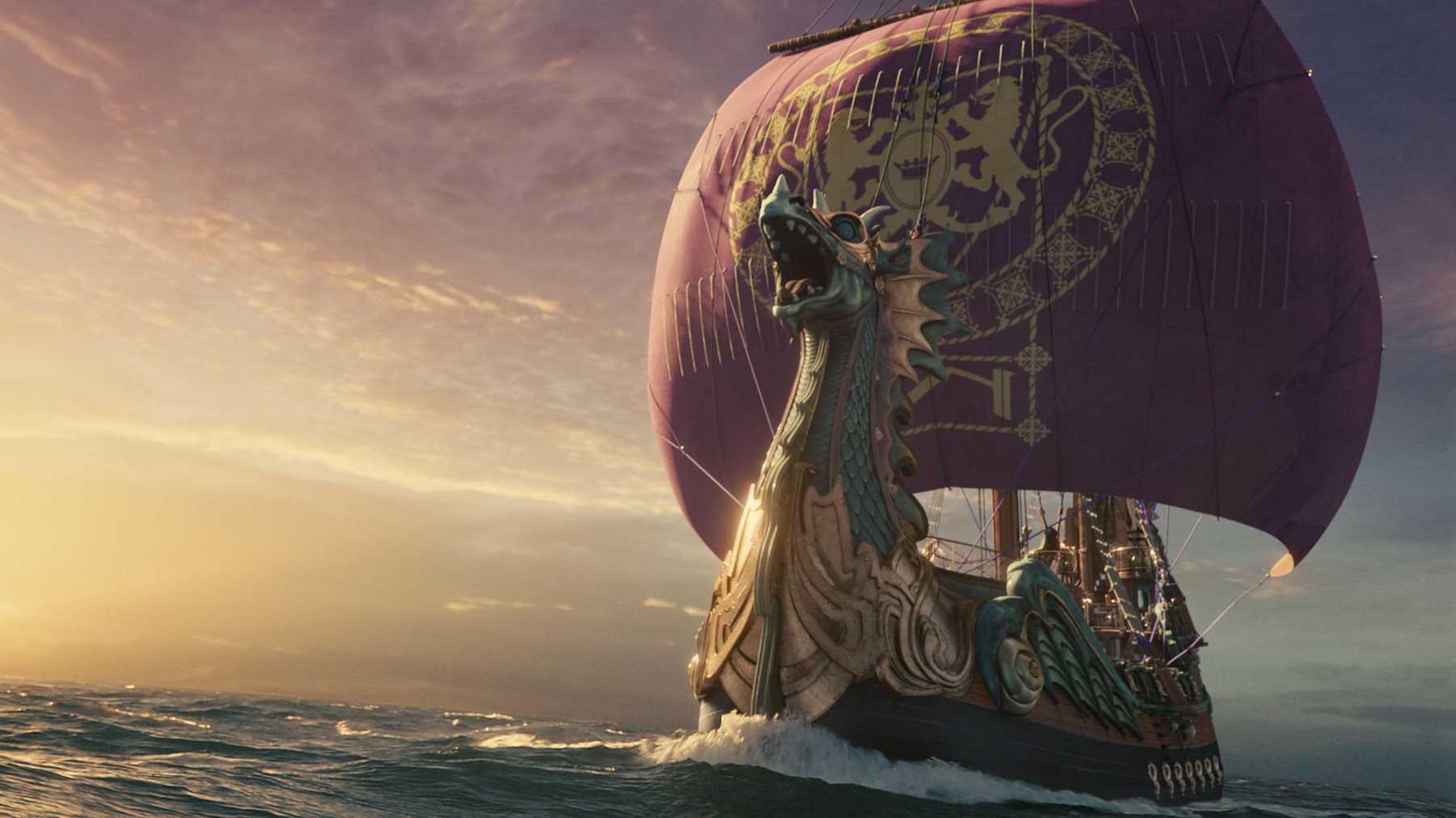 Podróż wędrowca do świtu - opowieści z narnii - statek - morze - c s lewis