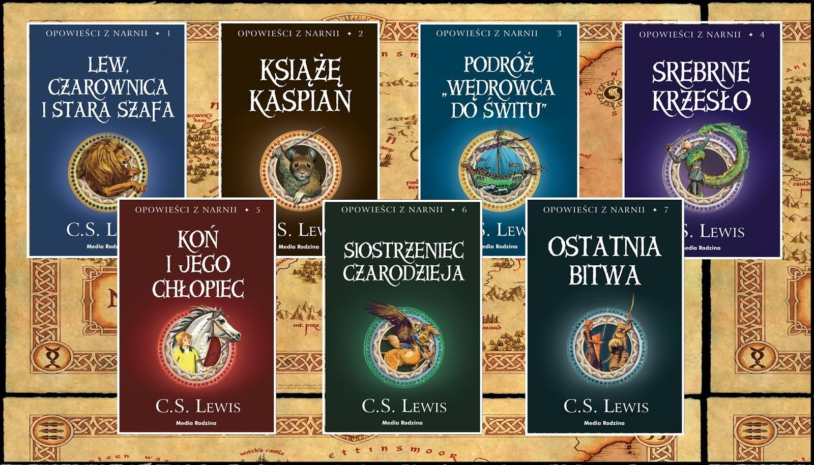 W jakiej kolejności czytać opowieści z narnii? - powieść C. S. Lewisa - literatura fantasy