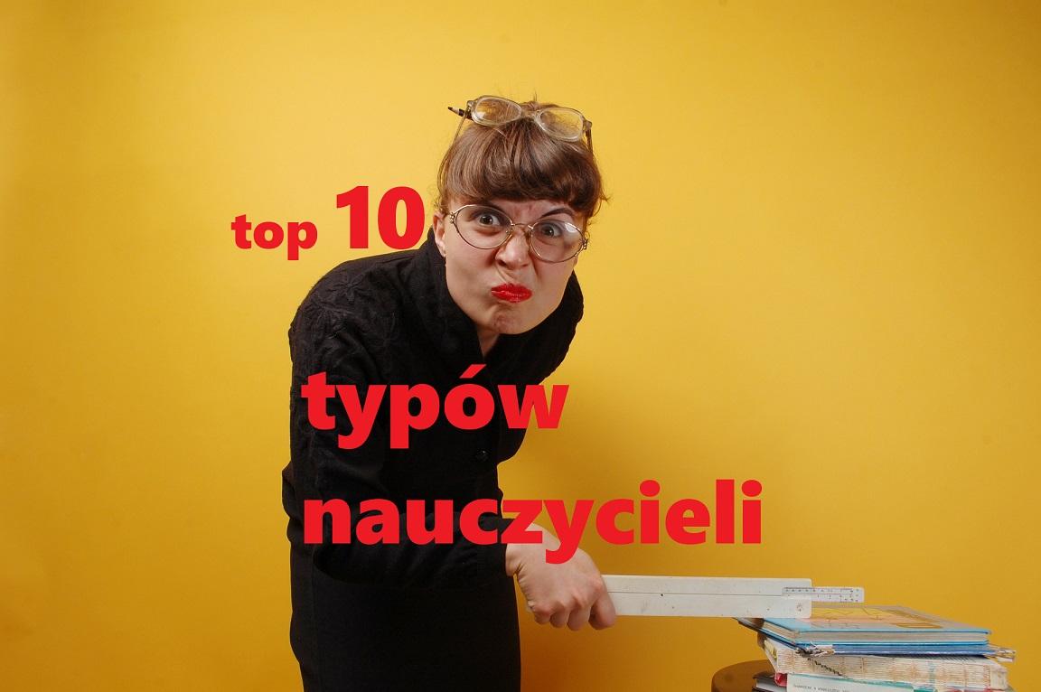 top 20 typów nauczycieli