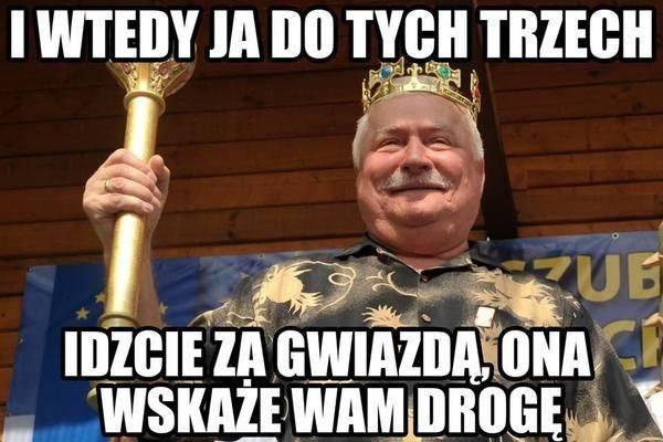 Memy o Wałęsie.