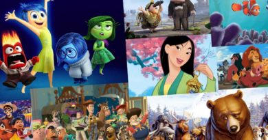 Top 10 animacji disney - mulan, toy story...