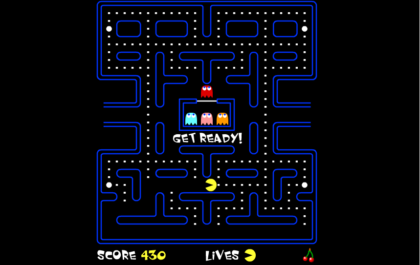 PAC-MAN GRY ONLINE - top 10