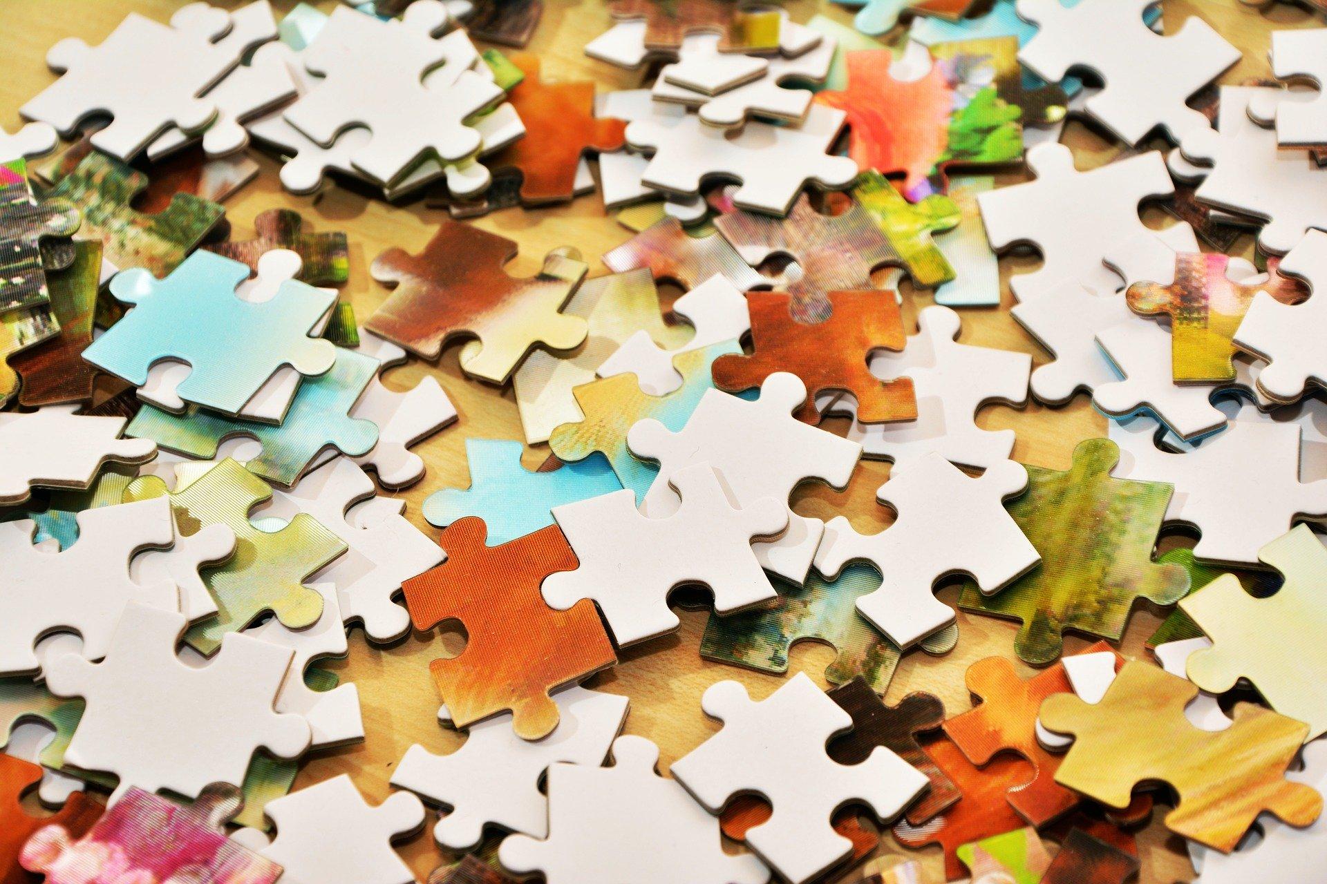 Puzzle gra planszowa