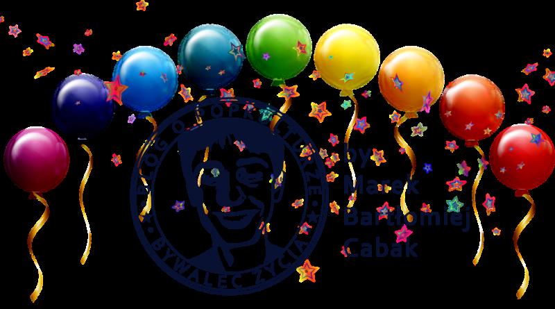 Trzecie urodziny bloga Bywalec Życia